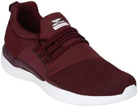 Red Tape Men Burgundy Athleisure Range Sports Walking Shoes