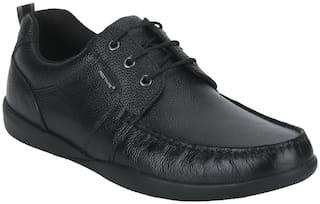 Red Tape Men Black Derby Formal Shoes - RTE1841
