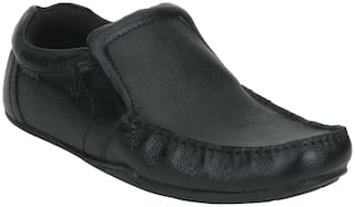 Red Tape Men Black Slip-On Formal Shoes - RTE1901
