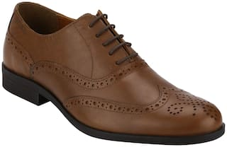 Red Tape Men Brown Brogues Formal Shoes