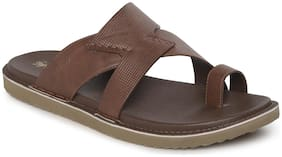 Red Tape Men Tan Sandals