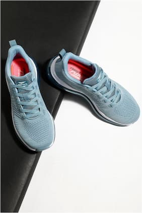 Red Tape Women Walking Shoes ( Blue )