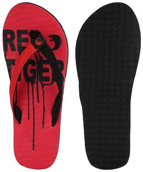Red Tiger Flip Flop