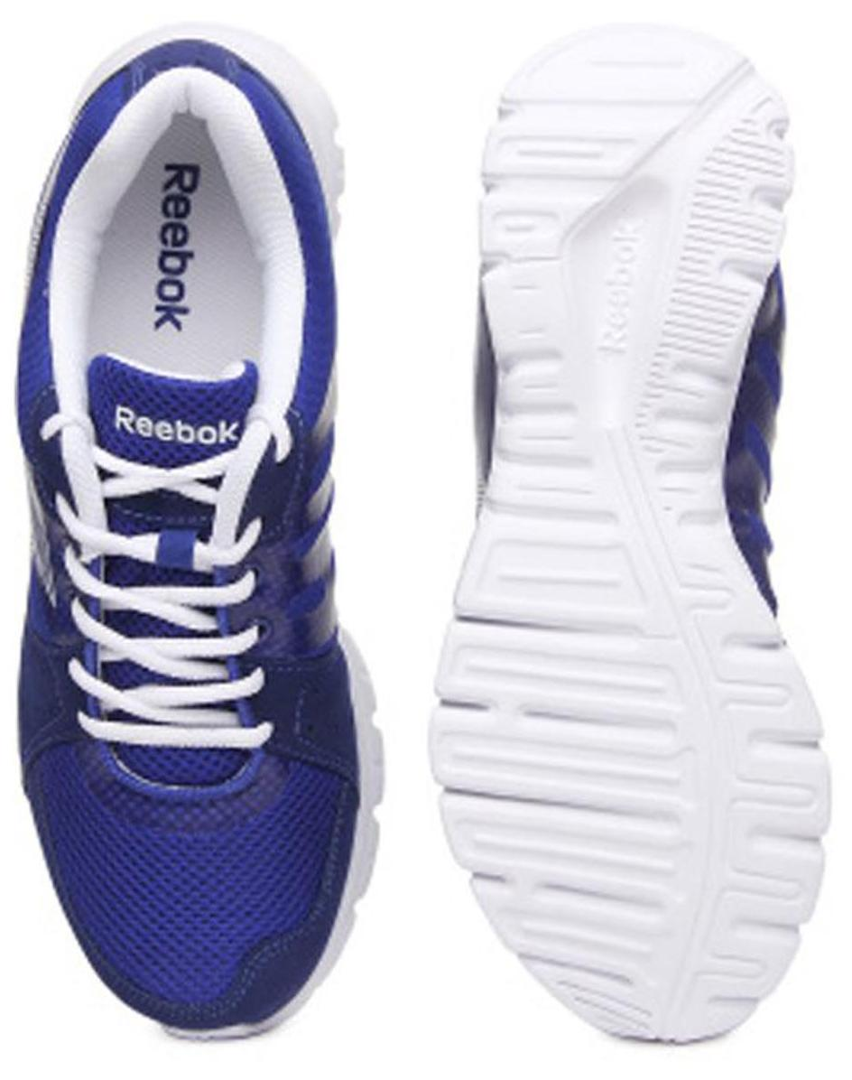 78aab9e86aa536 Reebok Men Blue Running Shoes - M48552 for Men - Buy Reebok Men s Sport  Shoes at 30% off.