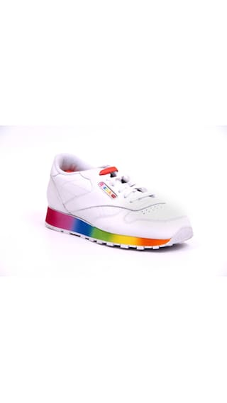 0f96142d2 Buy Reebok Classic Leather Rainbow Women Running Shoes Online at Low ...