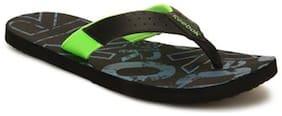 Reebok Men Black Flip-Flops -