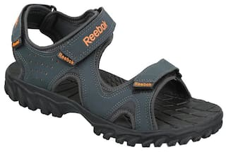 dcd35a10d Buy Reebok Men Grey Sandals   Floaters Online at Low Prices in India ...