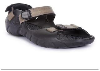 656f1e94c788 Buy Reebok Men Black Sandals   Floaters Online at Low Prices in ...