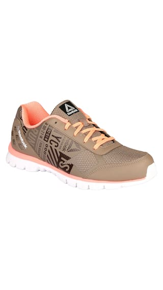 10ec0e9fce12cf Buy Reebok Women Beige Running Shoes Online at Low Prices in India ...
