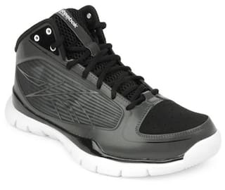 49ba97c8bf7a Buy Reebok Men Black Sneakers - J90411 Online at Low Prices in India ...