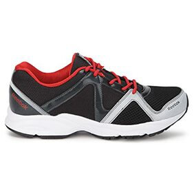 Reebok Thunder Run Black and Red Running Sports Shoes