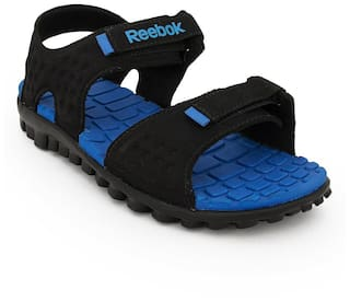 c8e2fa7d8a01 Buy Reebok Men Black Sandals   Floaters Online at Low Prices in ...
