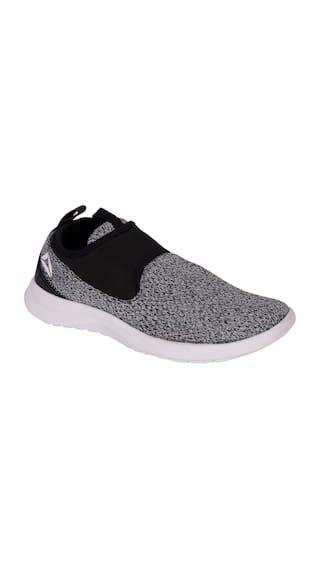 c3e5583f18c Buy Reebok Women s DMX Lite Walk Slip Grey Walking Shoes Online at ...