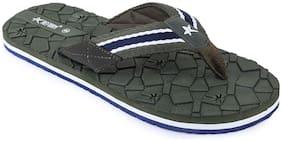 REFOAM Men Green Indoor Slippers - 1 Pair