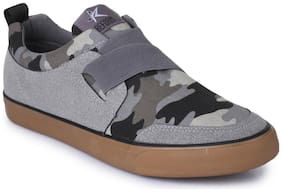 REFOAM Men Grey Casual Shoes