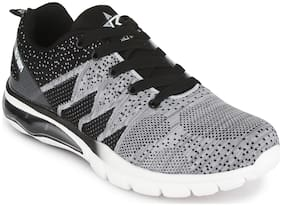 Refoam Men's Grey Mesh/Textile Sport Running Shoes