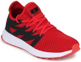 Refoam Men's Red & Blue Mesh Running Sport Shoes