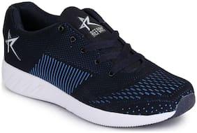 Refoam Mens Blue & Sky Flyknit Running Sport Shoes