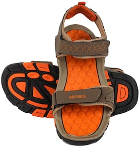 REFORCE GREY/ORANGE SANDAL FOR MEN