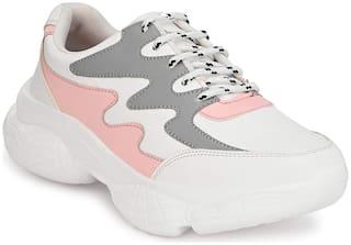 REFORCE Women Pink Sneakers
