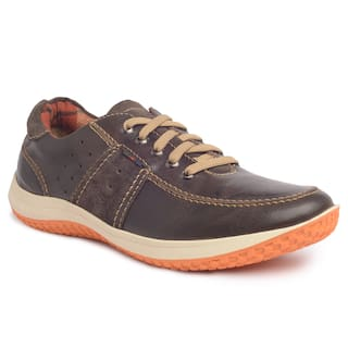 43415d38679 Buy Buckaroo Men Brown Casual Shoes - 5-51308r Online at Low Prices ...