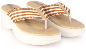 Women Slippers ( Tan )