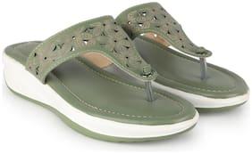 Women Slippers ( Green )