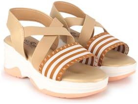 Women Sandals ( Cream )