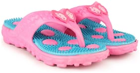 Women Slippers ( Blue;Pink )