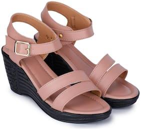 RIMBOLL Women Pink Sandals