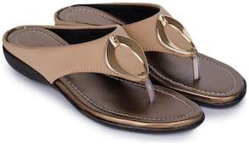 RIMBOLL Women Beige Slippers