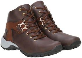 RIMONI Men's Brown Outdoor Boots