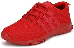 ROBBOX Men Men's Casual Shoes Running Shoes ( Red )