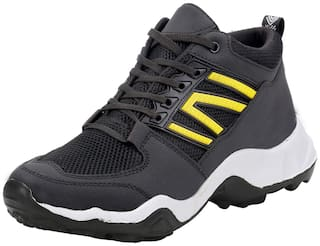 ROBBOX Men Men's Casual Shoes Running Shoes ( Black )