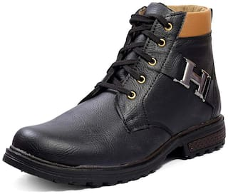 Rockfield Men's Synthetic Leather Boot Shoes