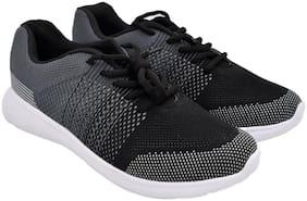 ROCLEX Men Okata Running Shoes ( Grey & Black )