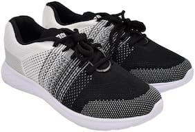 ROCLEX Men Okata Running Shoes ( White & Black )