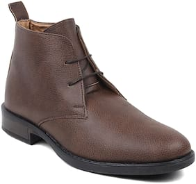 Rod Takes Men Brown Ankle Boots - BT02-BROWN - BT02-BROWN