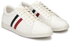 Rodolfo Darrell Men White Casual Shoes - Rdpk0006