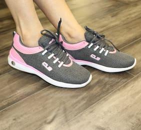 db4a63ad9d65d4 Columbus Women Ruhi-08-greypink Grey Running Shoes