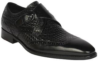 Ruosh Men Black Formal Shoes