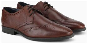 Ruosh Men Brown Formal Shoes - 1801142220