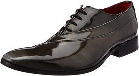 Ruosh Men Grey Formal Shoes