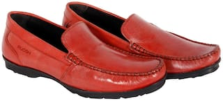 Ruosh Men Red Loafer