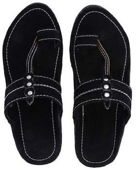 RYAG Men Black Outdoor slippers