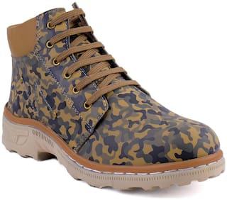 RYKO Men's Multi-color Outdoor Boots