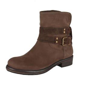 Salt N Pepper Brown Boots