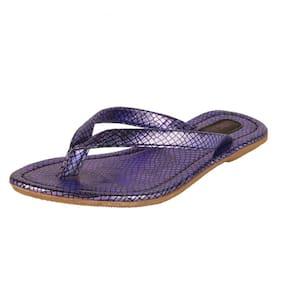 Salt N Pepper Purple Slippers
