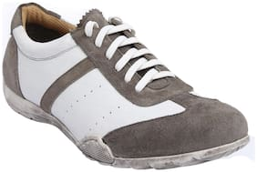 Salt n Pepper Men Grey Casual Shoes