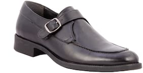 Salt n Pepper Men 16 449 Black Formal Shoes
